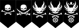 Ranks of Pirates