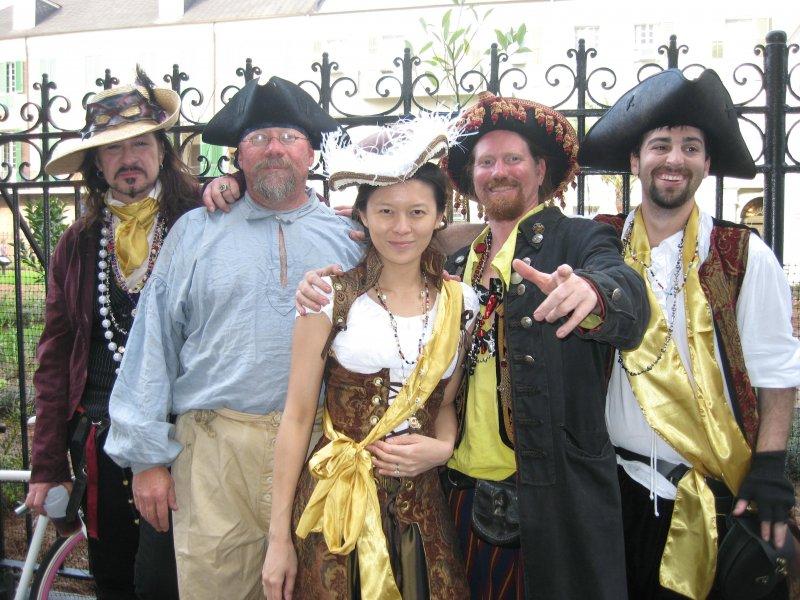 The Krewe of Pirates